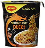 Maggi Magic Asia Noodle Cup Duck, 8er Pack (8 x 65 g)