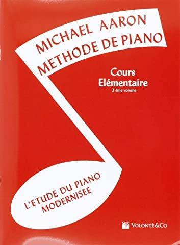 Aaron Methode de Piano Vol.2 Cours