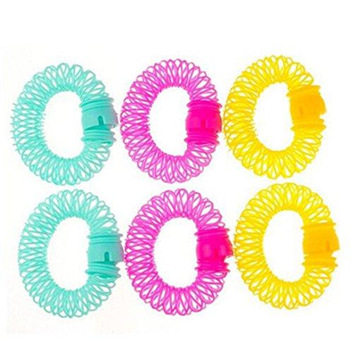 beautijiam® Praktische Lockenwickler, Spirallocken, Haar-Styling, DIY Werkzeuge, zufällige Farbe