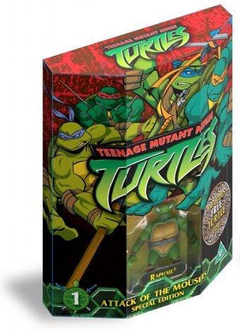 Teenage Mutant Ninja Turtles, Vol. 1: Attack of The Mousers (Special Edition) [2003] [DVD] by Michael (Mutant Ninja Teenage 2003 Turtles)