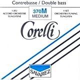 CUERDAS CONTRABAJO - Salvarez (Corelli 370/M) (Juego Completo/Tungsteno/Orchestra) Medium Bass 4/4