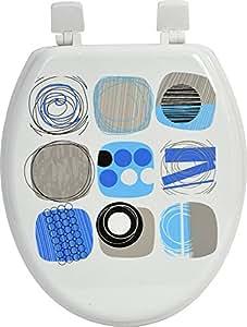Abattant WC Design Bleu