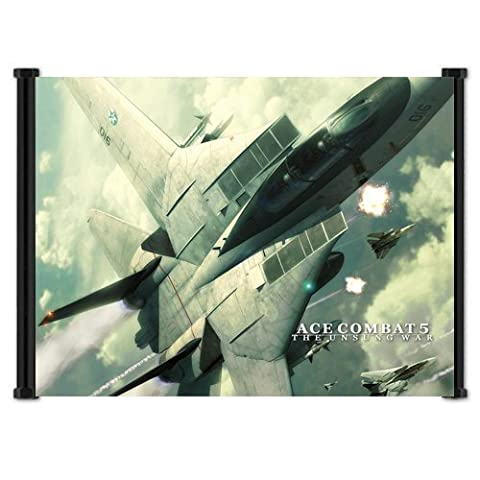 Ace Combat 5: La guerre Unsung Jeu PS2Wall Scroll Poster
