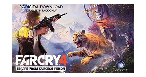 Buy Far Cry 4 Escape From Durgesh Prison Dlc Digital Code Only Online At Low Prices In India Ubi Soft Video Games Amazon In