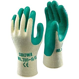 Showa 310 Green Grip Work & Gardening Gloves Size 7 / Small