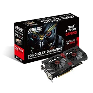 Asus R9 380X 4 GB STRIX Gaming OC Graphics Card