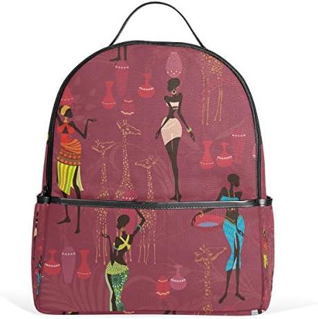 COOSUN African école Sac à Dos léger en en en Toile Cartable pour Les garçons Filles Enfants Multicolore B078MK448T   Valeur Formidable  5042db