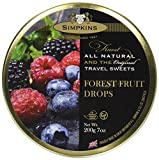 Simpkins Forest Fruit Drops 200g, 12er Pack (12x 200 g)