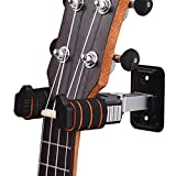Muslady Instrument Aufhänger Haken Halter Mauer Montieren mit Schwamm Kissen zum Geige Ukulele AROMA