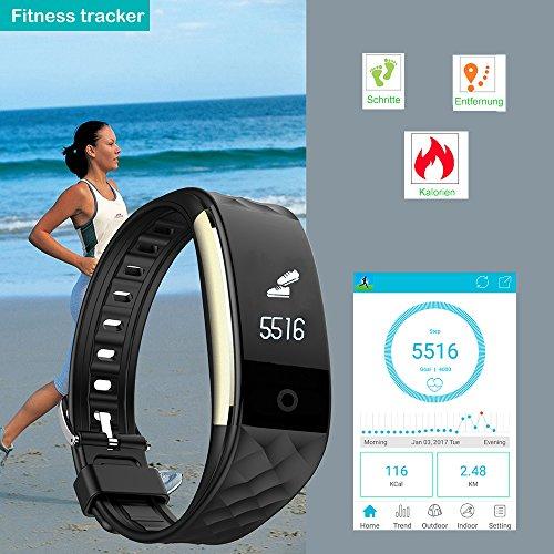willful sw328 fitness tracker mit pulsmesser. Black Bedroom Furniture Sets. Home Design Ideas