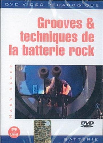 Grooves & techniques de la batterie rock 1 DVD + 1 Livret