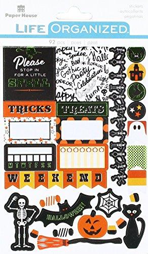 IONS Halloween Aufkleber, Planer, 3er Pack, Halloween Fun 5/Pkg (Spaß Halloween-handwerk Zu Hause)