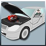 Einhell Batterie-Ladegerät CC-BC 30 (für Batterien von 3 bis 400 Ah, Ladespannung wählbar 6 V/12 V/24 V, Volt- und Amperemeter, Fernstartkabel, Tragegriff) Test