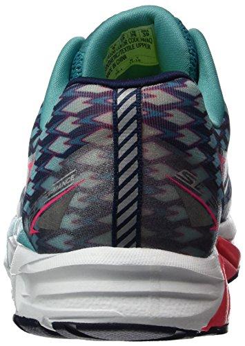 Skechers Go Run Forza 2024, Chaussures Multisport Outdoor Femme Bleu (Nvaq)