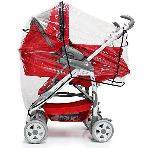 Baby Travel Travel System Raincover To Fit - Hauck Shopper SLX (Heavy Duty, High Quality)