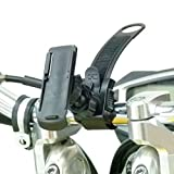 BuyBits Verriegelung, Motorrad Halterung für GPS Garmin Oregon 200, 300, 400, 450, 550 600 650