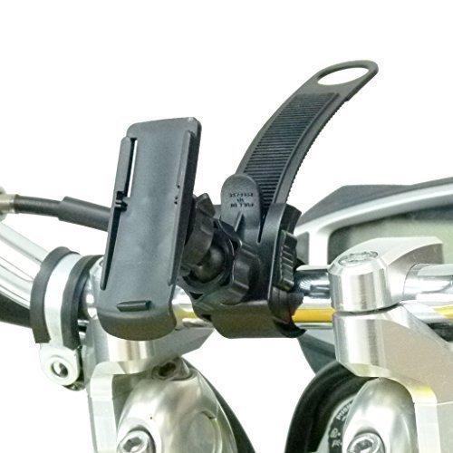 BuyBits Verriegelung, Motorrad Halterung für GPS Garmin Oregon 200, 300, 400, 450, 550 600 650 (Garmin Oregon 550t Gps)