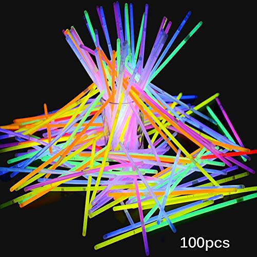 TiooDre Glow Sticks, 100pcs Light Sticks Bulk-Party Supplies Armbänder
