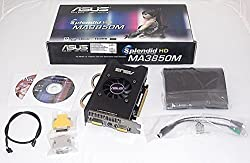 ASUS Splendid MA3850M/HTDI/512M/A ATI RADEON HD 3850 512MB 256-bit DDR3 PCI-Express x16 HDMI Video Card with Worlds 1ST Stand-Alone Color Processor