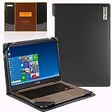 Broonel London - Profile Series - Etui noir en cuir de luxe pour ordinateur portable pourASUS ZenBook UX410UA