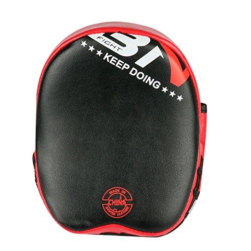 2Kid Target Mitt mit PU-Leder Stanz Kicking Palm Pad Haken Target Mitt Handschuh für Focus Training der Karate Muay Thai Kick Boxen UFC MMA -