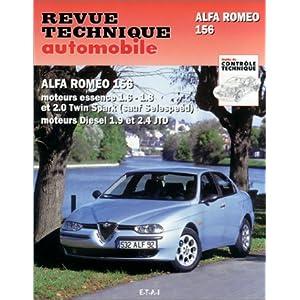 revue technique 627.1 Alfa Romeo 156 Essence et Diesel