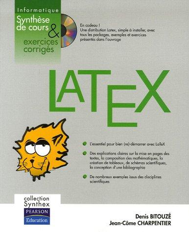 LaTeX + CD Rom: Collection Synthex par Denis Bitouzé