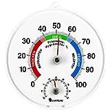 Precisión - termómetro / higrómetro combitool para de interior o al aire libre. clima / thermo hygrometer