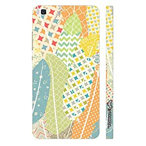 Huawei P8 Prints on Feathers 2 designer mobile hard shell case by Enthopia