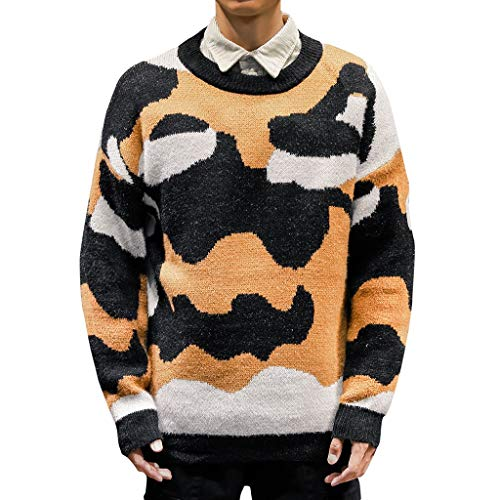 Uomo felpa pullover manica lunga stampa cardigan maglione maglia maglietta camicia sportivo maglia invernale cappotto caldo stampa camicetta slim fit maglietta da uomo camicie da uomini tees tops