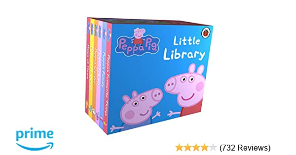 997b8f9bd81b Buy Peppa Pig  Little Library Book Online at Low Prices in India ...