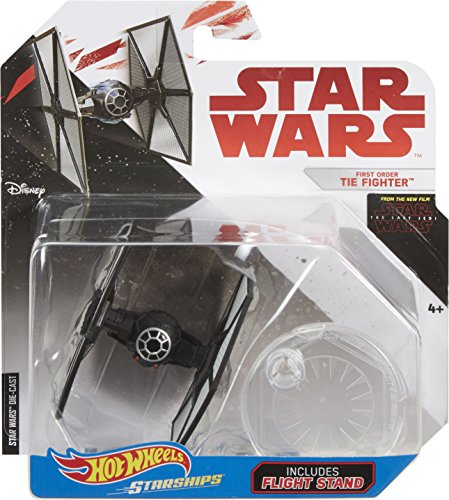 Sw Hot Wheels Star Wars The Last Jedi First Order Tie Fighter