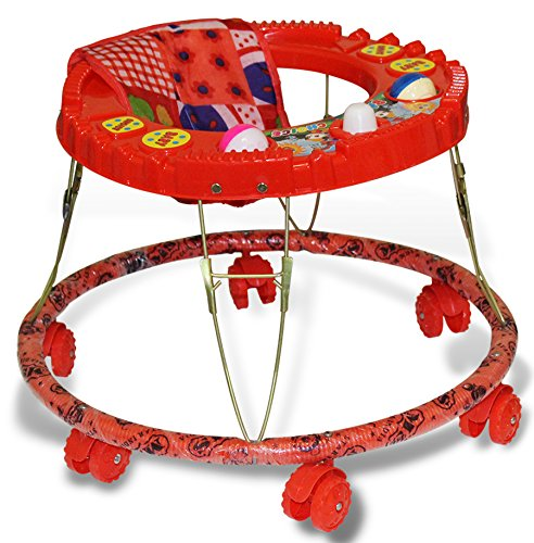 Akshat Baby Walker Red Fully Comfortab...
