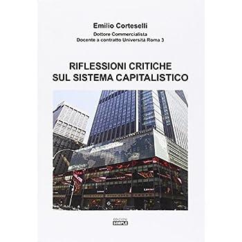 Riflessioni Critiche Sul Sistema Capitalistico