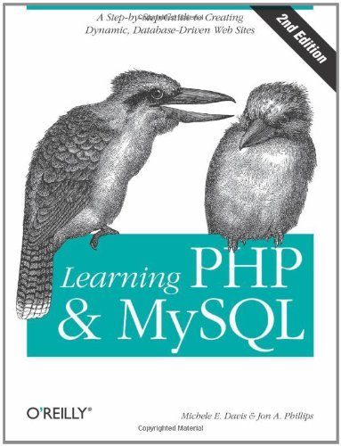 Learning PHP & MySQL: Step-by-Step Guide to Creating Database-Driven Web Sites by Michele E. Davis (2007-08-27) par Michele E. Davis;Jon A. Phillips
