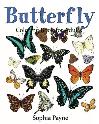 Butterfly Coloring Book for Adults: Volume 2 (Butterflies Coloring book) por butterflies coloring book for adults