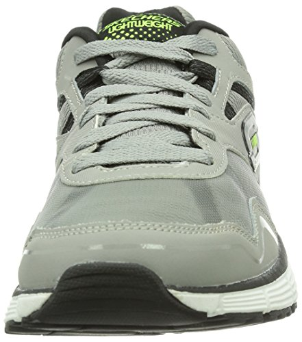 Skechers AgilityVictory Won, Baskets mode homme Gris (Lgbk)