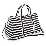 Best Overnight Bags For Women - Women Waterproof Weekender Bag,AIZBO PU Leather Overnight Weekend Review