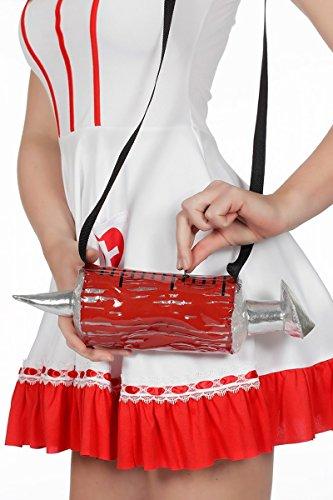 Tasche Umhängetasche Krankenschwester Spritze Träger Bag Karneval ()
