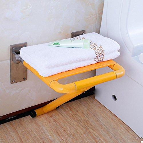 SAEJJ-Christmas giftNotduschen Klapphocker, Dusche Stuhl mit Beinen aus älteren Menschen, Dusche Wand Klappstühle Schuhe bench