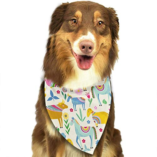 Gxdchfj Horse Sheep Goat Pig and Cow Triangle Bandana Scarves Accessories for Pet Cats and Dogs - Gifts