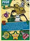 Bin Weevil #51 - The Dosh's- Posh Super Foil Trading Card [Toy]