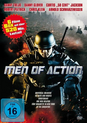 Image of Men of Action (6 Films) [Import Germany]