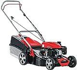 AL-KO Benzin-Rasenmäher Classic 4.66 P-A, 46 cm Schnittbreite, 2.0 kW Motorleistung, für Rasenflächen bis 1.100 m², Schnitthöhe 7-fach verstellbar, robustes Stahlblechgehäuse, inkl. 65 l Fangkorb mit Füllstandsanzeige