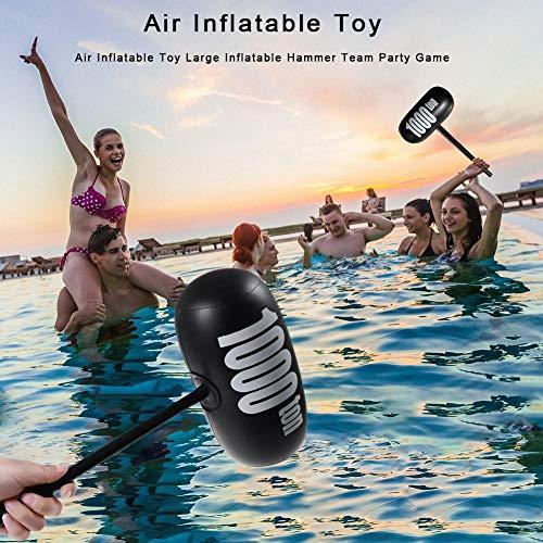 TARTIERY Aufblasbare 1000 Tonnen Hammer Pool Wasser Spielzeuge Kinder Spielpool Vorgeben Lustiges Aufblasbarer Hammer Spielzeug Pool Strandspielzeug Sprengen