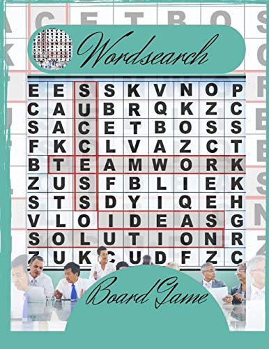 Wordsearch Board Game: This is Infinite Word Search Puzzles, Word Search For Everyone Relax your mind!
