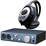 Presonus AudioBox iTwo USB-Audio-Interface für iPad, Mac, PC + KEEPDRUM Kopfhörer