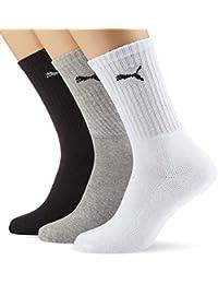 Puma - Unisex Sport Socken 3er Pack