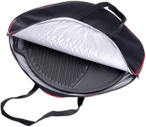 Paella World International Grillzubehör Tasche für Gusseisengrillplatte, Schwarz, 1-teilig, 38 cm