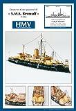HMV 3024 Kartonmodell Küstenpanzerschiff SMS Beowulf